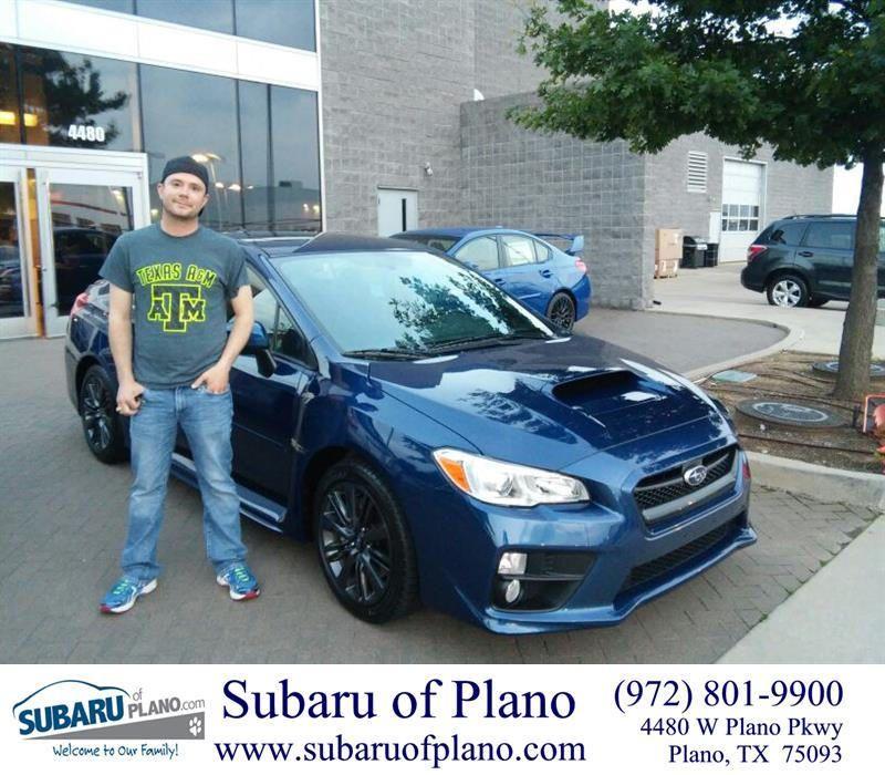 Happybirthday To Calvin From Daniel Guerrero At Subaru Of Plano Subaru Happy Anniversary New Cars