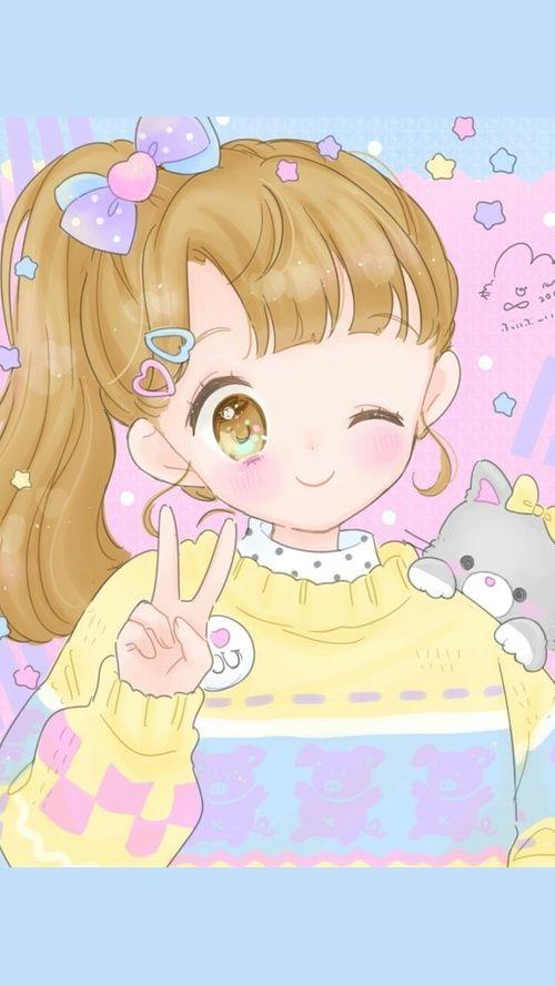 Anime Art Baby Baby Doll Baby Girl Background Beautiful Girl