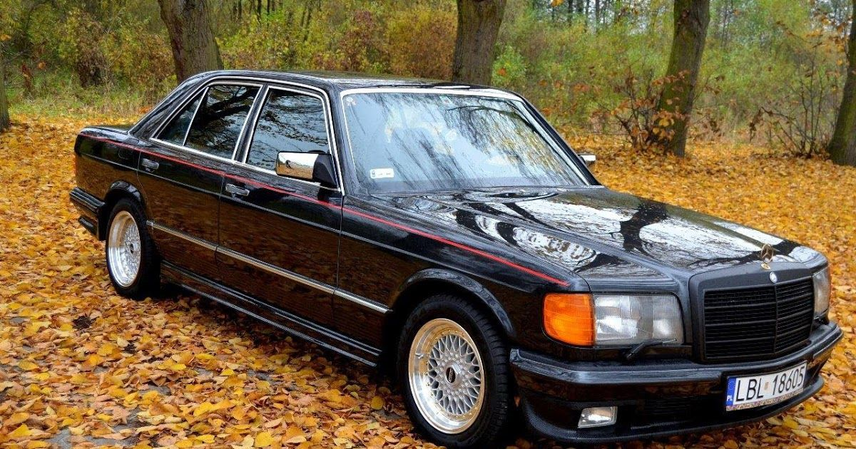 Mercedes Benz W126 500se Brabus With Images Custom Mercedes