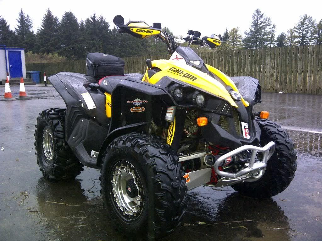 Can-Am 1000Cc ATV | 1000cc modification - Renegade