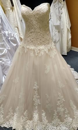 8315f7fcbe03d David Tutera 115241: buy this dress for a fraction of the salon price on  PreOwnedWeddingDresses.com