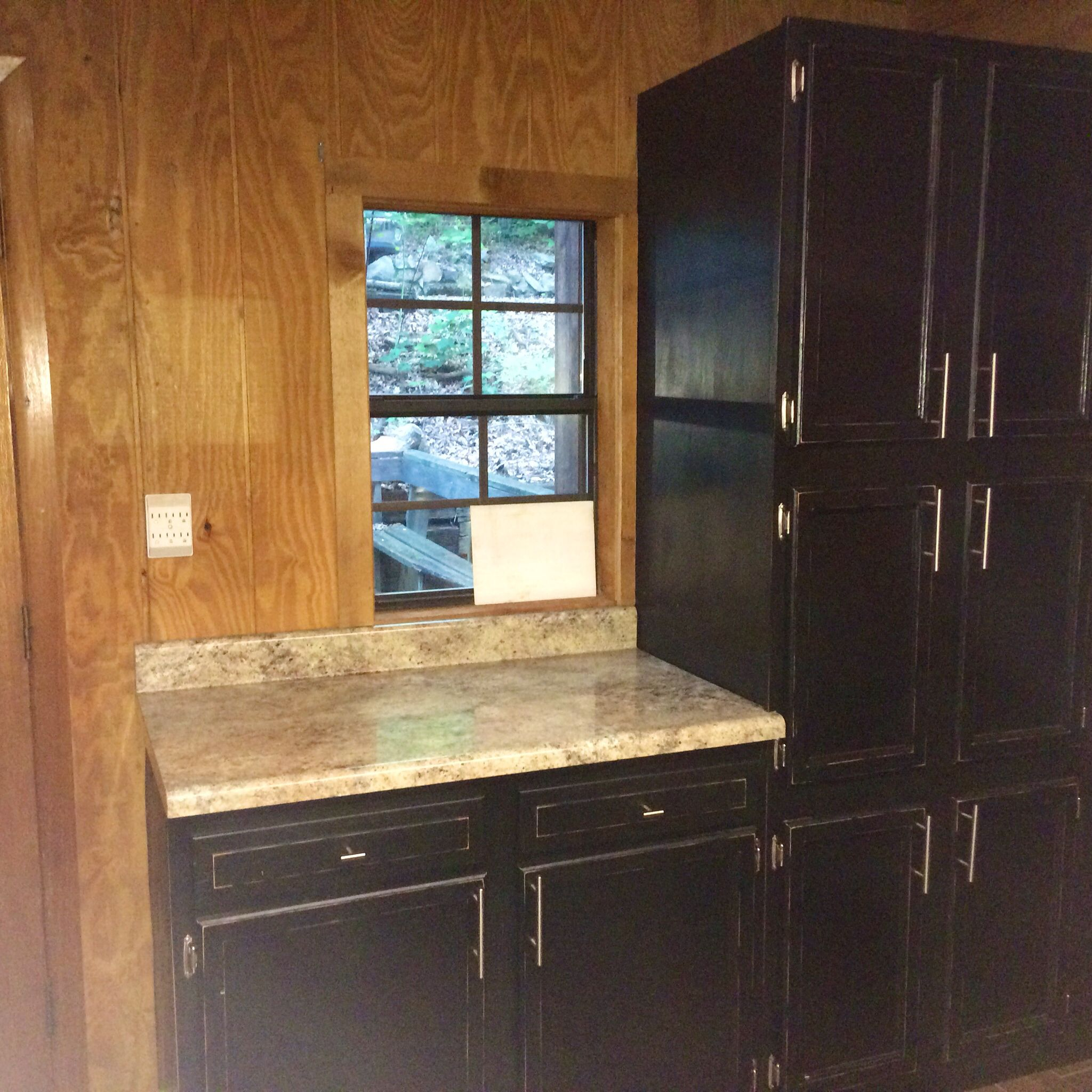 New Kitchen Cabinets Cost: Our Unfinished Maple Cabinets Are Low Cost And Give Our