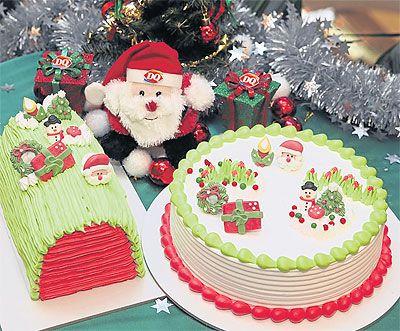 XMAS ICE CREAM CAKE