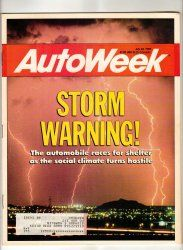 AutoWeek Car Magazine July 24 1989 DeLorean CART IMSA Racing