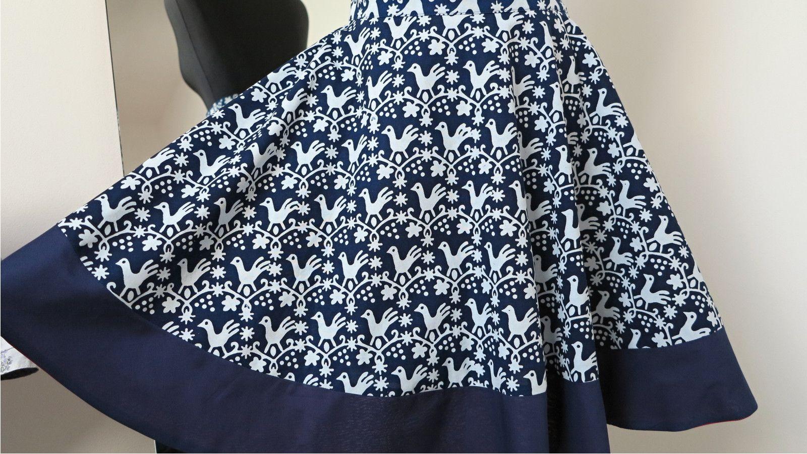 f678eac78d7a sukně+dokola+s+holoubky+a+lemem+modrotisková+ušila+jsem+kolovou+ ...