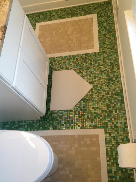 Nats Themed Bathroom