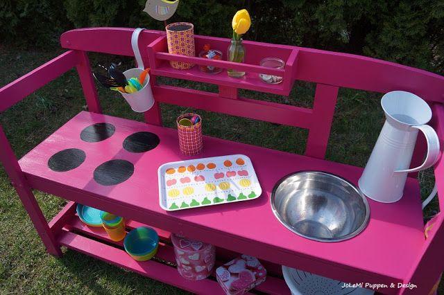 Spielhaus Mit Sommerküche : Jolemi puppen design sommerküche o spielküche kaufladen