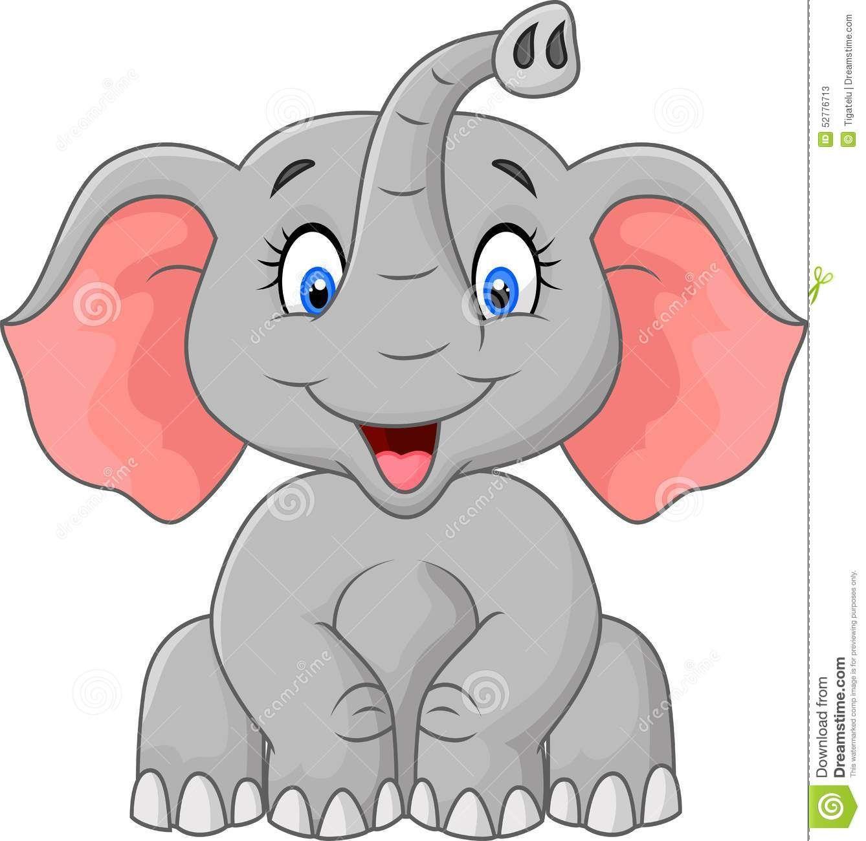 Cartoon Elephant Sitting Cute Elephant Cartoon Baby Elephant Cartoon Cartoon Elephant