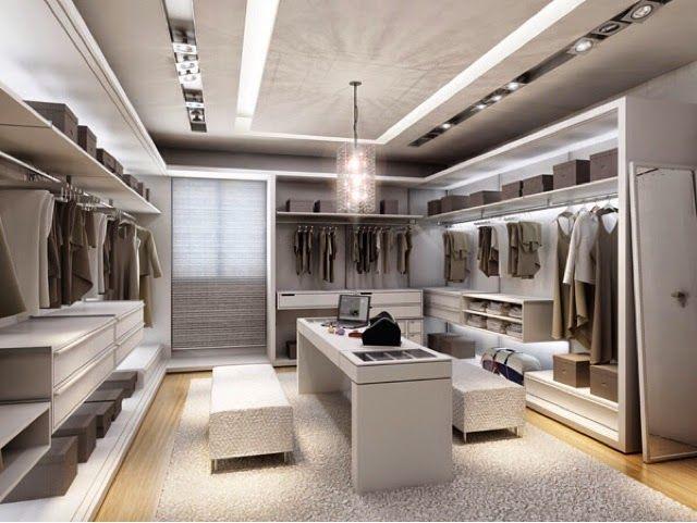 Blog home luxo closets v rias inspira es para voc s for Modelos de zapateras para closets