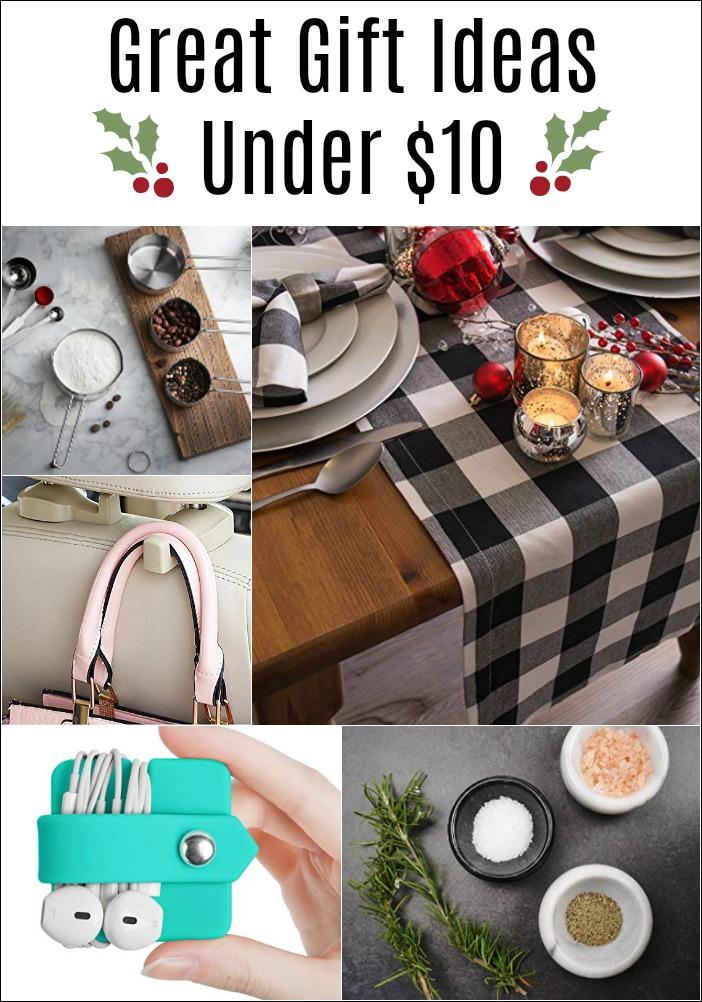 The Best Holiday Gift Ideas under $10!   Mason jar ...