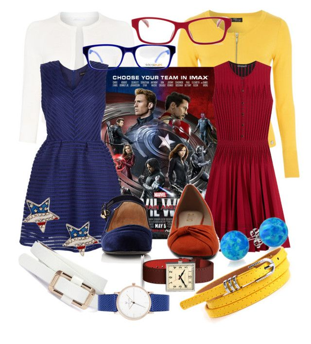 """""""Choose Your Side"""" by starletinwaiting ❤ liked on Polyvore featuring HUGO, New Look, Alexander McQueen, The Row, Ollio, Newgate, Bling Jewelry, SocialEyes and Corinne McCormack"""