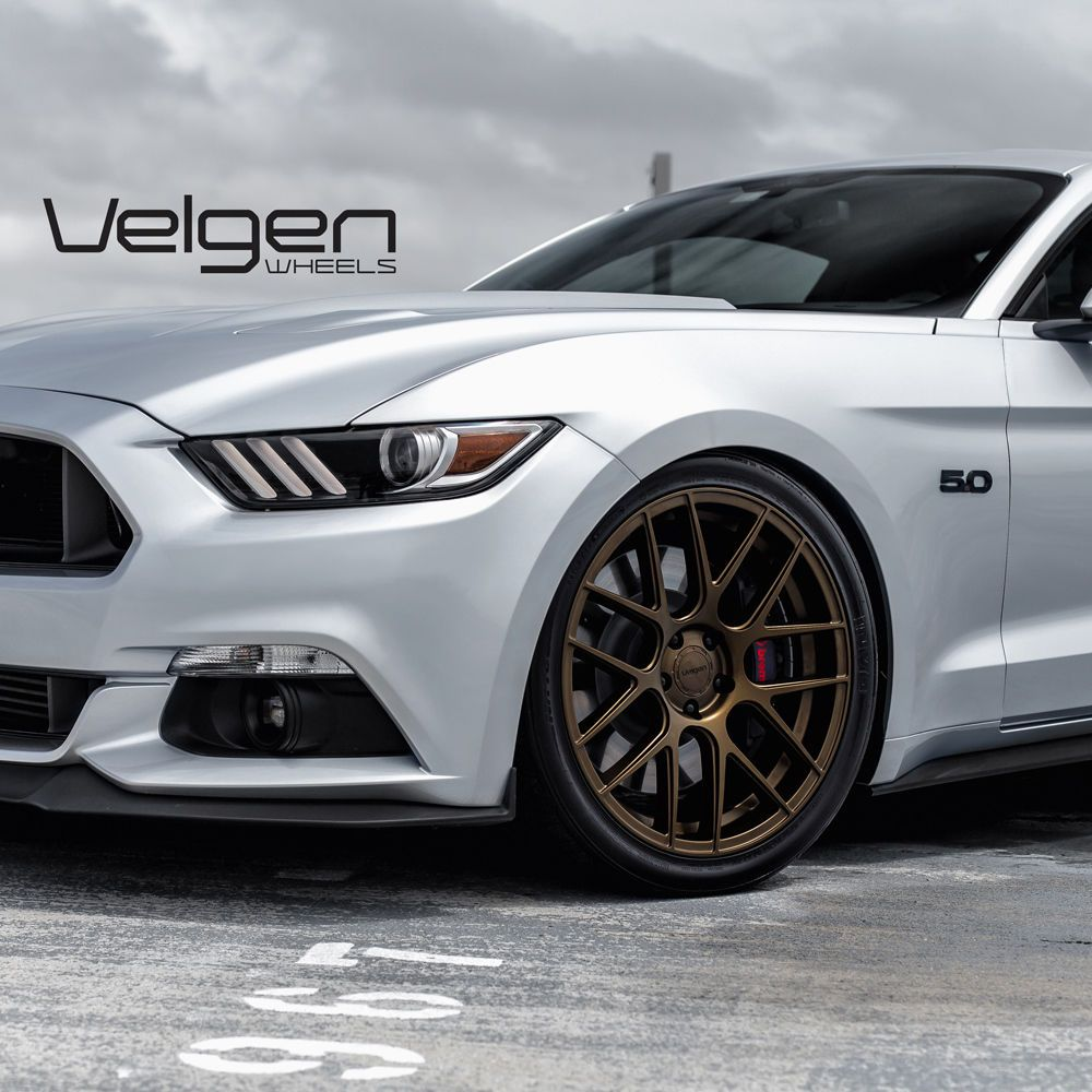 20 Velgen Vmb7 Bronze Concave Mesh Wheels Rims Fits Ford