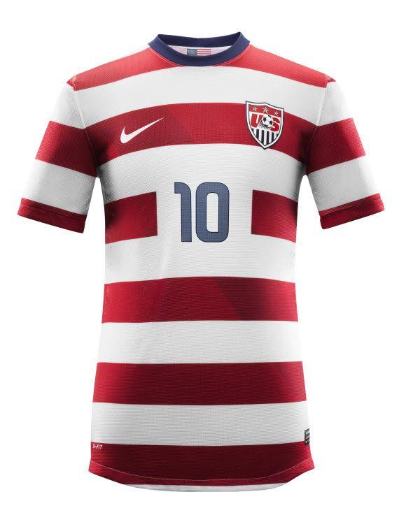 6bbd154e301 Nike Soccer – U.S. National Team 2012/2013 Men's and Women's Home ...