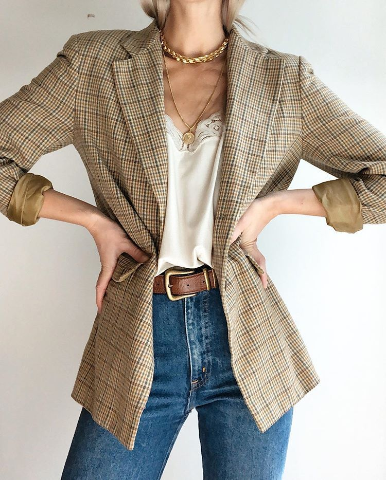 Stunning vintage DKNY blazer. In great condition, and hundo percent wool outer l... #wintergrunge