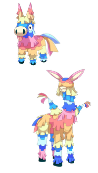 Fakemon: Viva Pinata rejected by That-One-Leo | pokemon