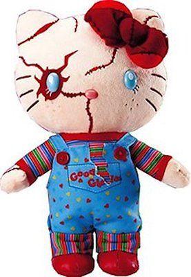 NEW Hello Kitty CHUCKY 2015 Halloween USJ Japan Limited Plush Doll Stuffed F//S