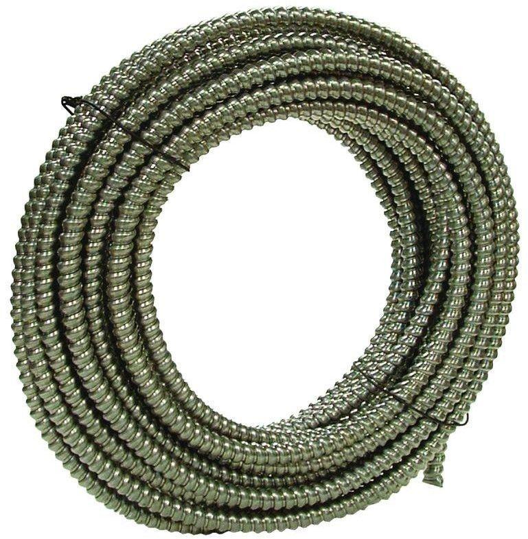 Southwire 3 4 In X 100 Ft Alflex Rwa Metallic Aluminum Flexible Conduit Southwire Electrical Conduit Pvc Conduit Metal
