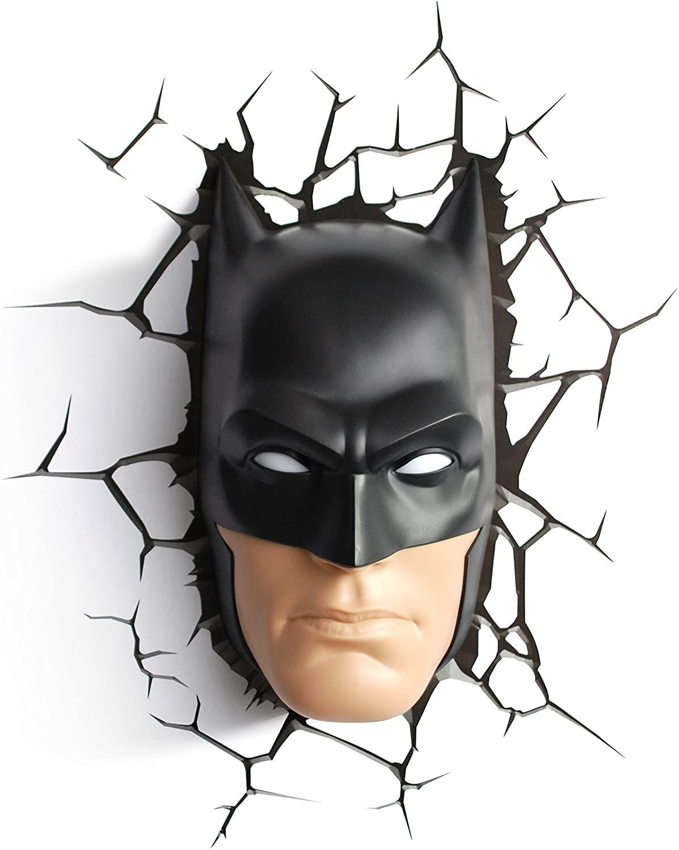 3dlightfx Warner Bros Dc Comics Batman Mask 3d Deco Light Batman Pictures Batman Batman Mask