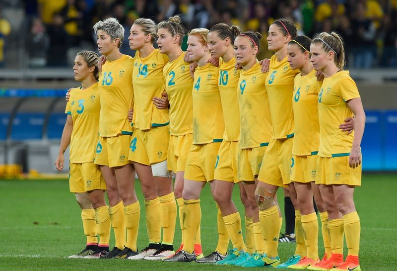 This Clip Of The Australian Women S Soccer Team Women S Soccer Team Womens Soccer Women S Soccer