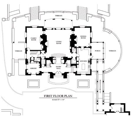 Period Homes Magazine Architectural Floor Plans House And Home Magazine Vintage House Plans