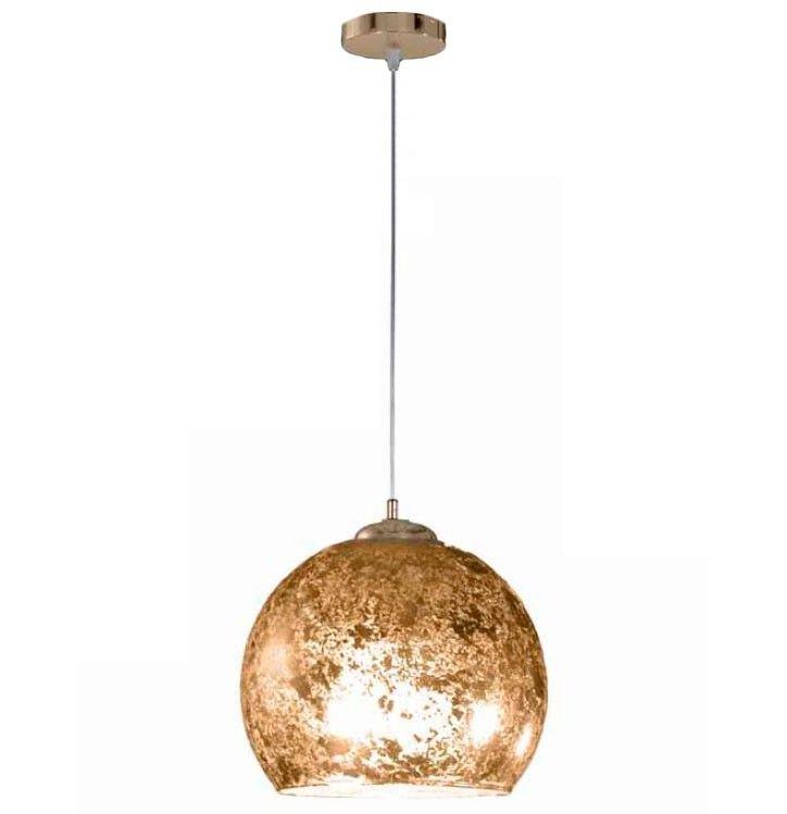 Lámpara de Techo Colgante Esfera Pan de Oro