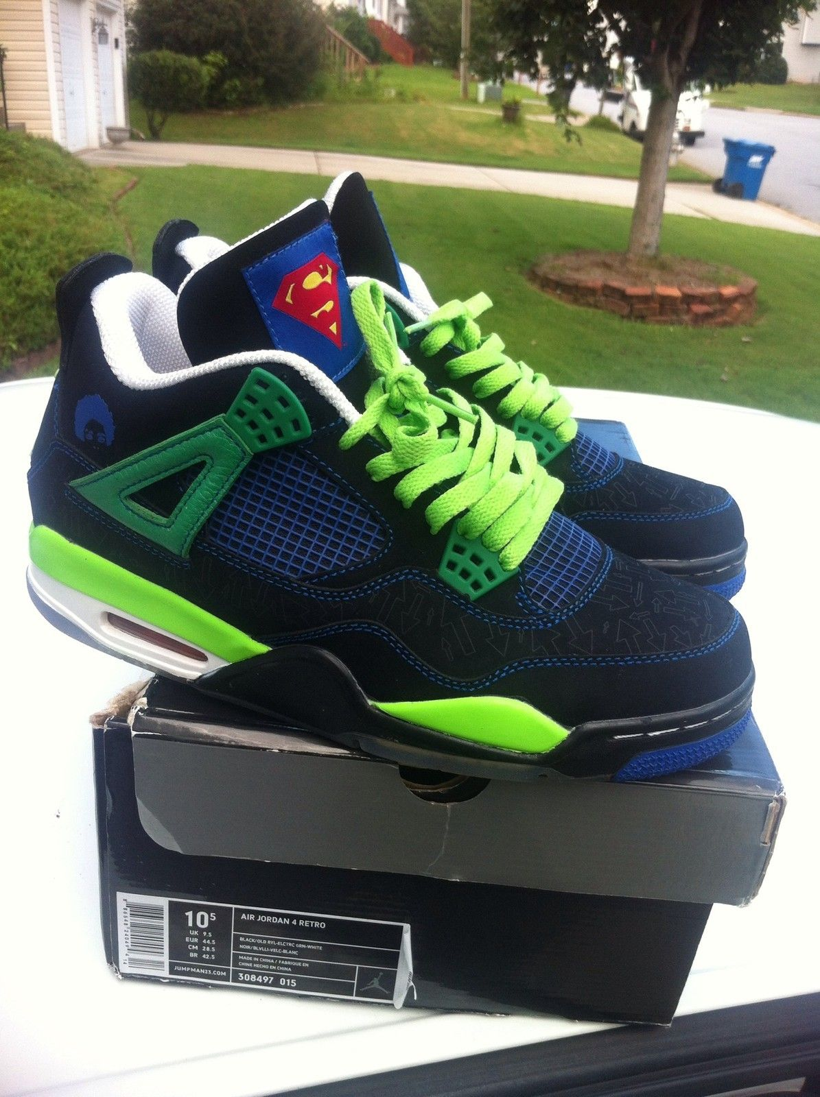 86b43719ffdf Jordan 4 Doernbecher Superman Brand New in box (DS) size 10.5 DB 3 ...