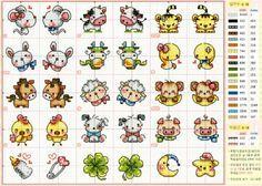 diseños para imanes punto de cruz.jpg (1600×1143)