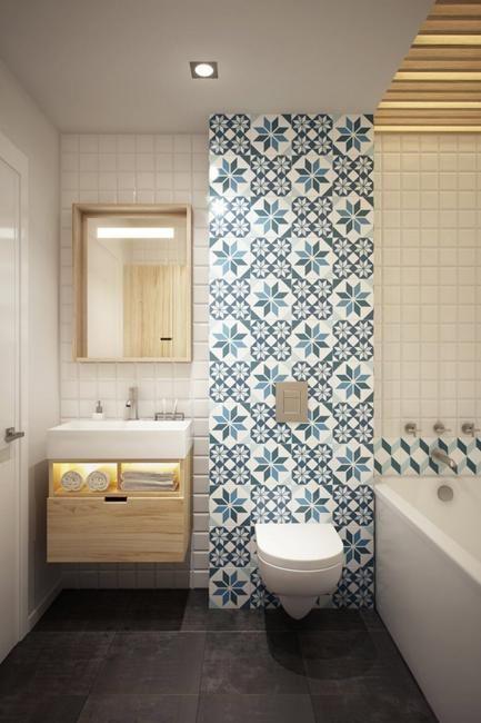 kleine badezimmerfliesen alte designtrends die ihr