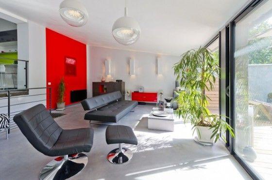 Avant / Après  Une maison des années 50 transformée en loft design - Plan Maison Sweet Home 3d