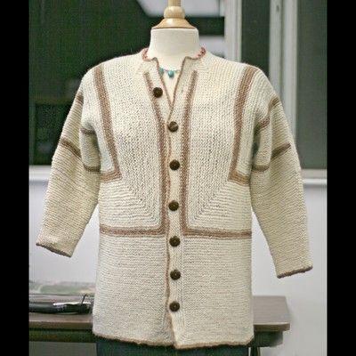 Adult Surprise Jacket Pattern By Elizabeth Zimmermann Things I