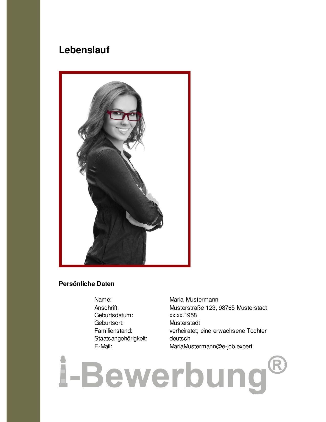 Hier sehen Sie ein Beispiel für die Bewerbung als Sekretärin. Die ...