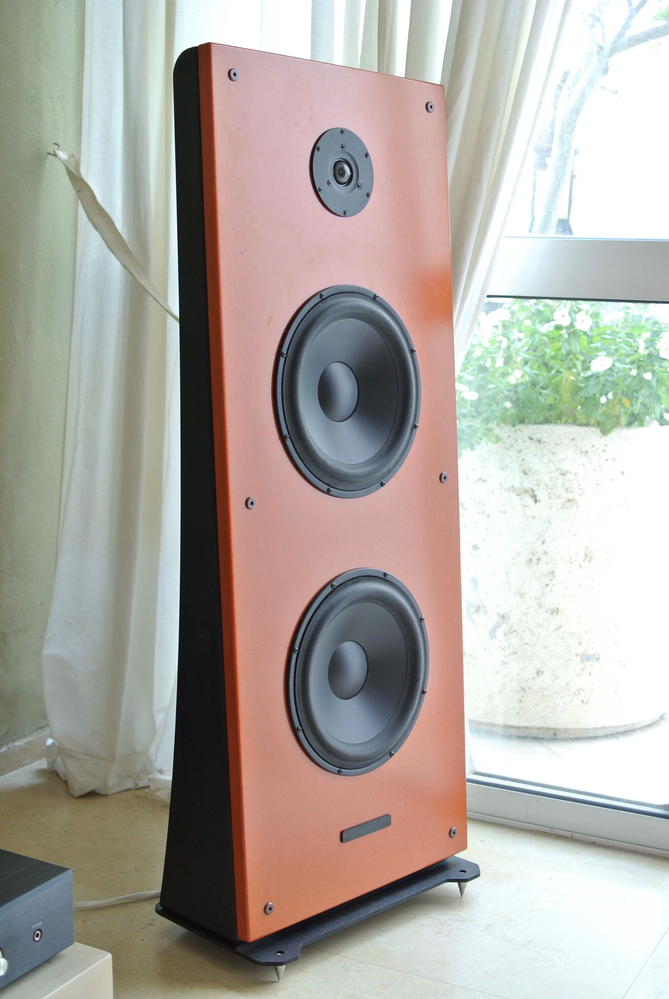 Floor Stand Open Baffle Speakers Only 42cm Wide With