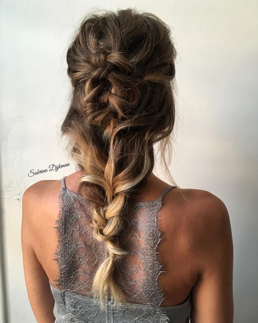 Gorgeous hairstyle inspiration updo wedding hairstyle braids