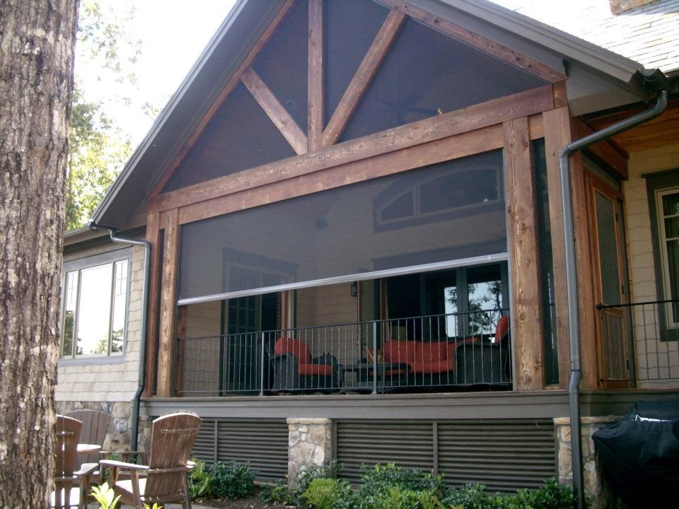 Delightful Retractable Screen Systems | Cabin | Pinterest | Screen Enclosures, Porch  And Patios