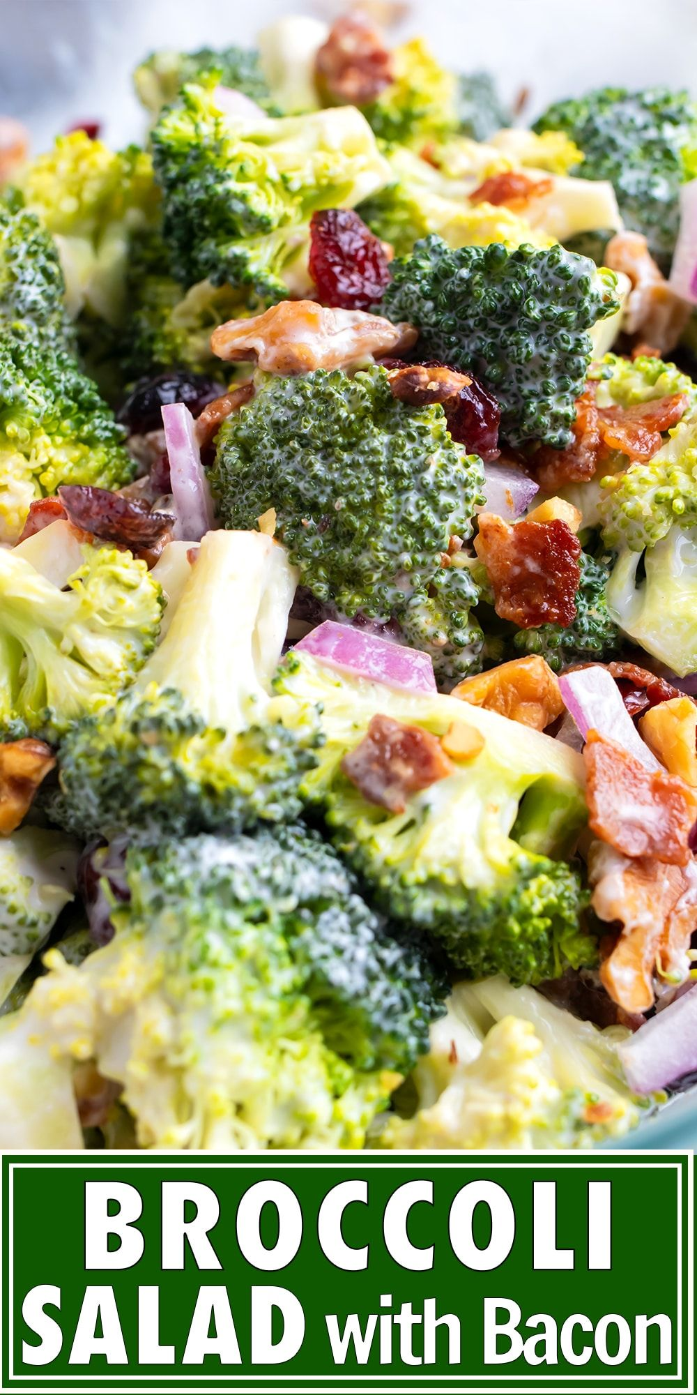 Easy Broccoli Salad With Bacon