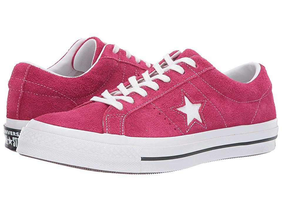 Converse One Star Ox Men's Lace up casual Shoes Pink Pop