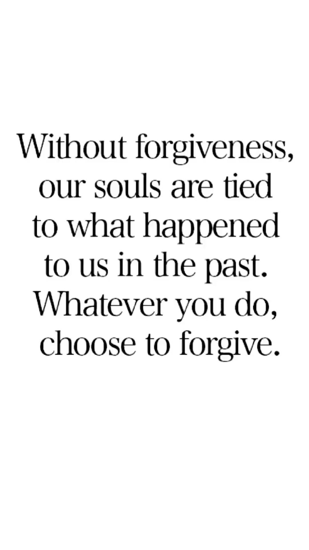 Forgiveness is the final act of Love…ꨄ