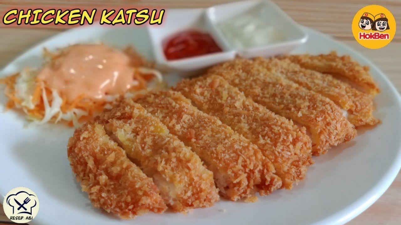 Resep Chicken Katsu Ala Hokben Bikin Dirumah Saja Rasanya Mirip Banget Youtube