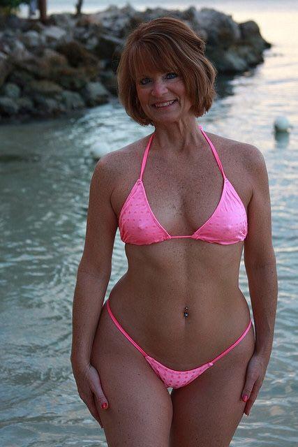 Granny In a Bikini