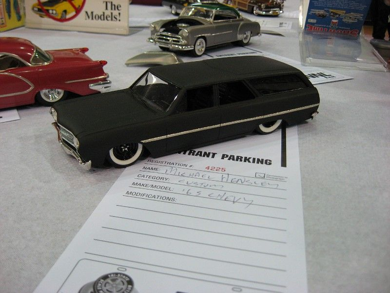 '65 Chevy Flat Black wagon