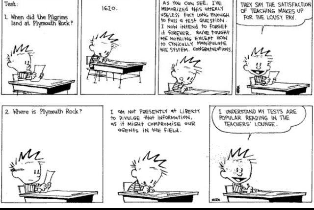 Calvins tests are popular. Lol I wish Id answered like