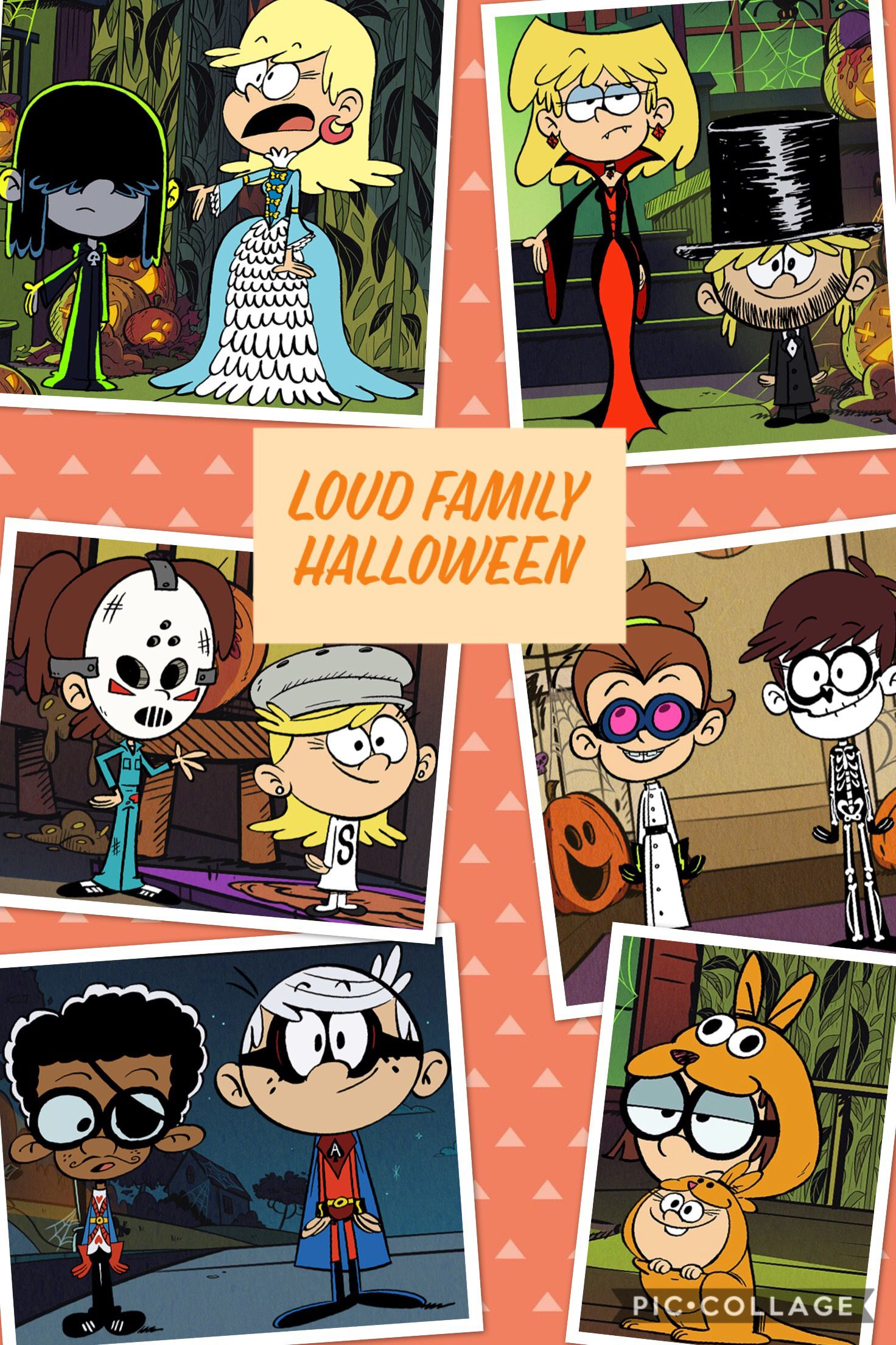 Check Out Everyone S Cool Costumes Loud House Characters