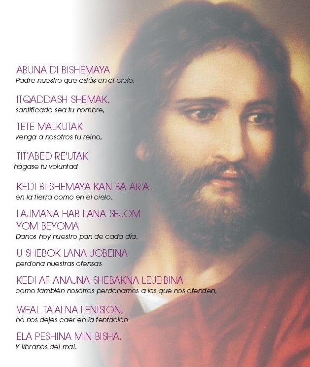 Padre Nuestro En Arameo Oraciones Poderosas Nombres De Dios Oración Para Casos Difíciles