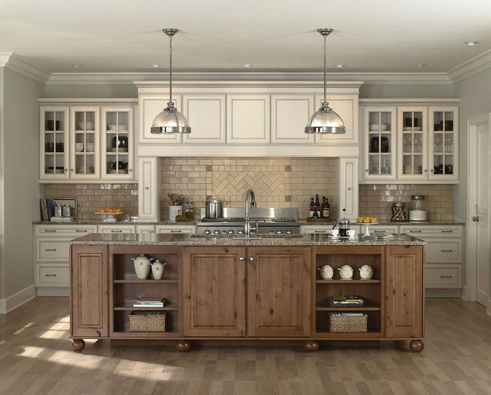 Chic Off White Kitchen Cabinets Luxury Kitchen Design Styles