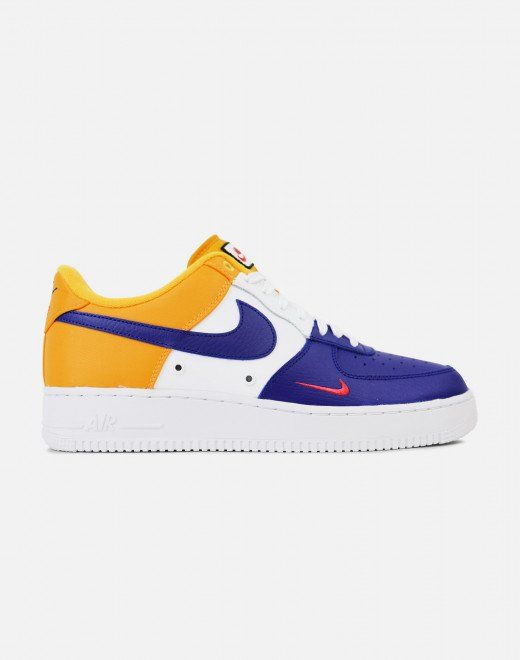 free shipping 52c12 32441 Nike Air Force 1  07 LV8 (Deep Royal Blue University Gold-White-University  Red)