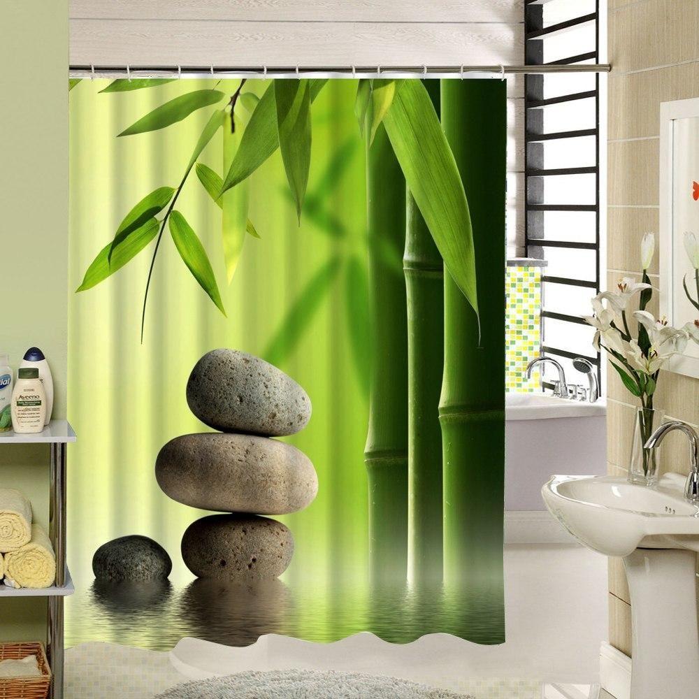 Zen Shower Curtain In 2018