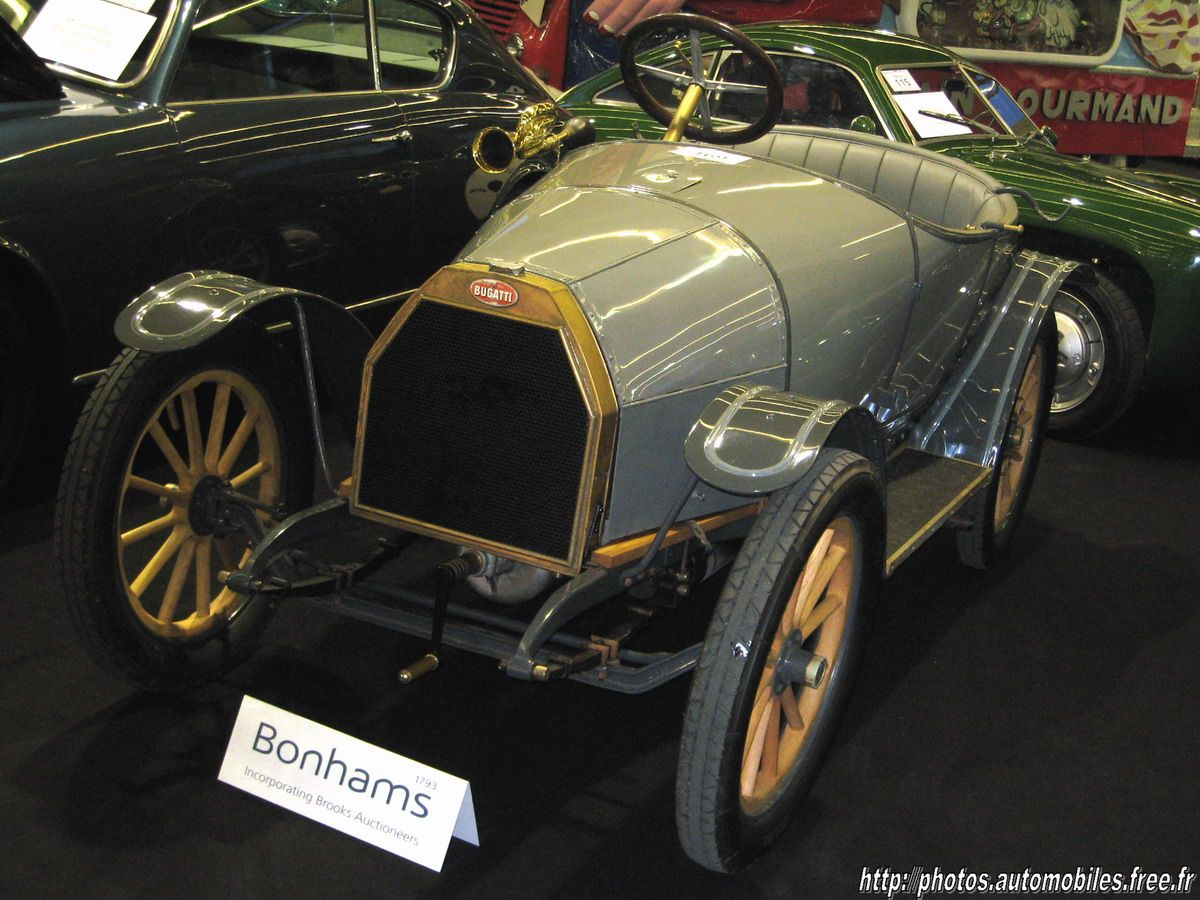 Ettore Bugatti produced his first car, with his own name affixed to ...