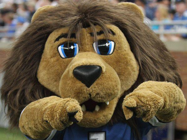 Roary Detroit Lions Mascot Roar Detroit Lions