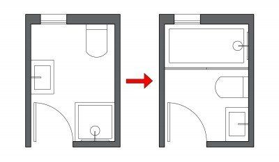 Small Bathroom Layout Ideas from an Architect for Maximum Space Use
