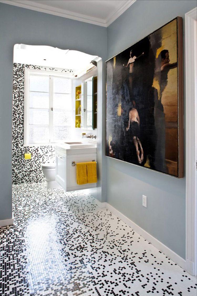 Badezimmer design gold glasfliesen mosaik im badezimmer und innenräumen u  designs mit